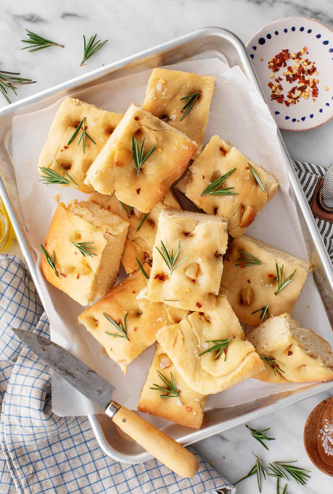 Rosemary Focaccia Bread Recipe Love And Lemons