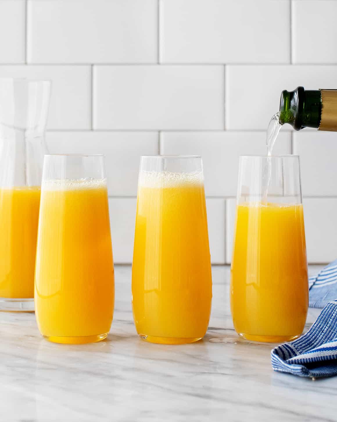 Classic Mimosa Recipe Love And Lemons