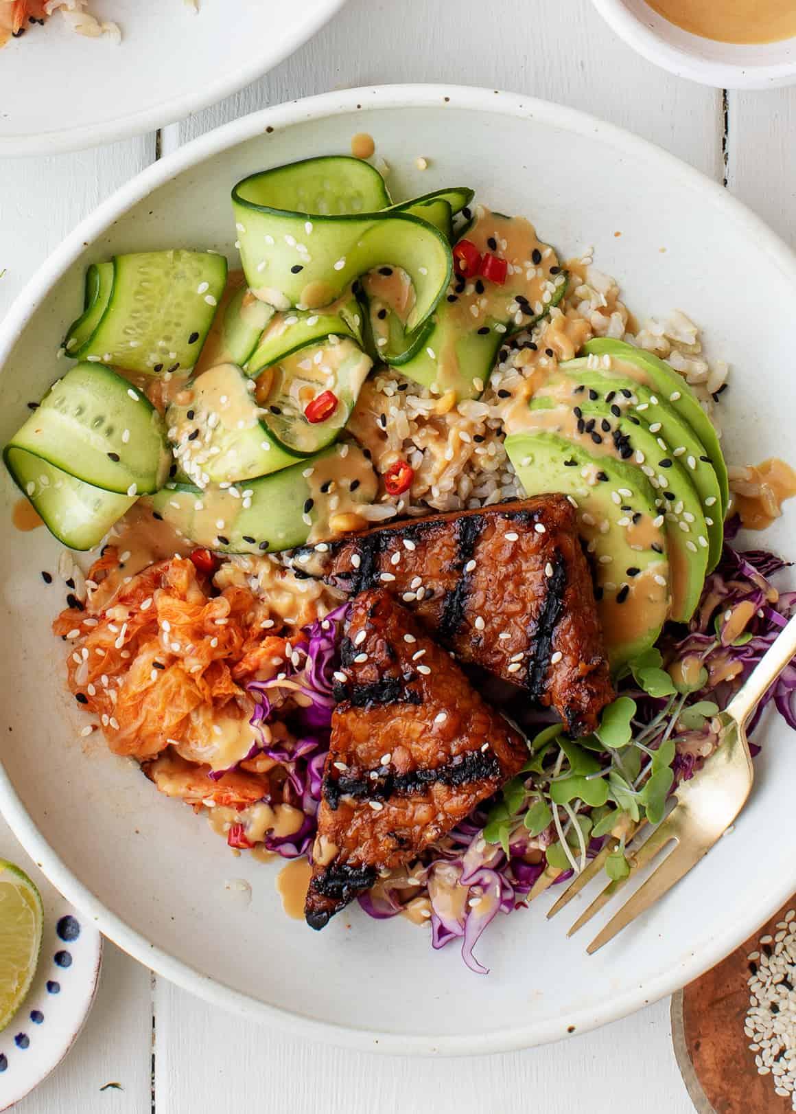 Rice Bowl Recipes: Mango Avocado Rice Bowl