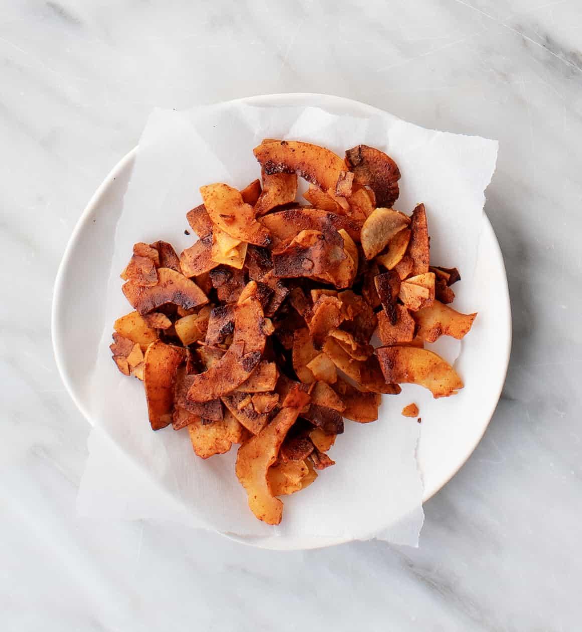 Coconut vegan bacon