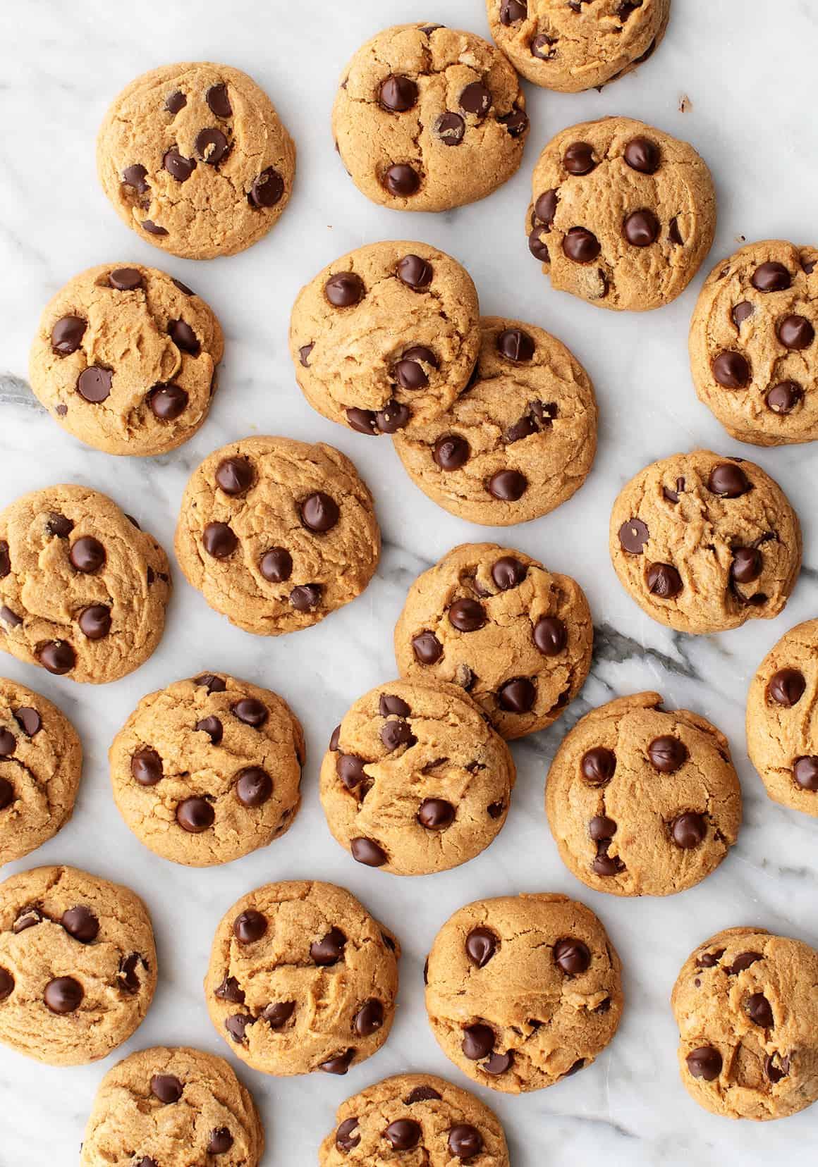 Receta vegana de galletas con chispas de chocolate