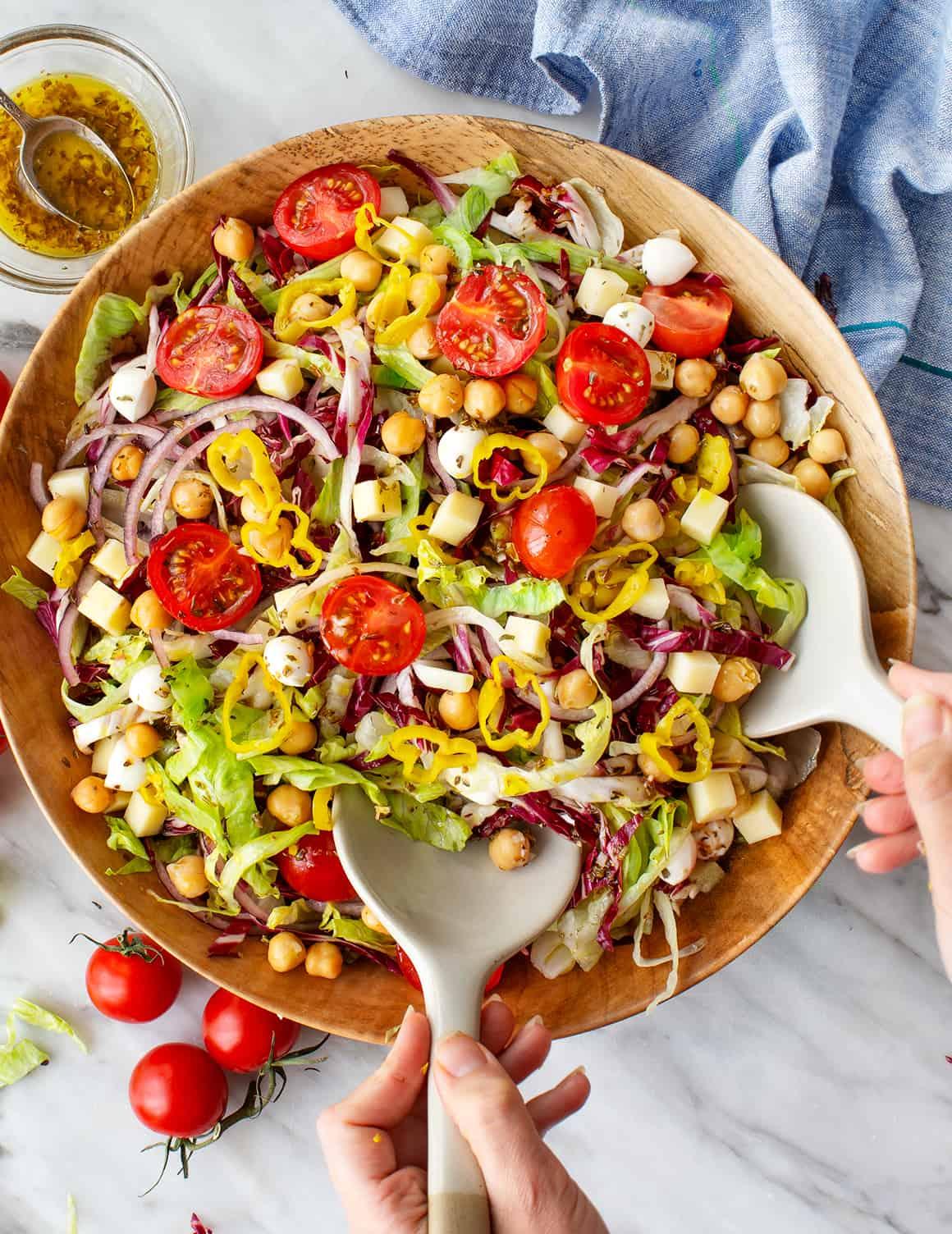 Italian Chopped Salad Recipe Love And Lemons