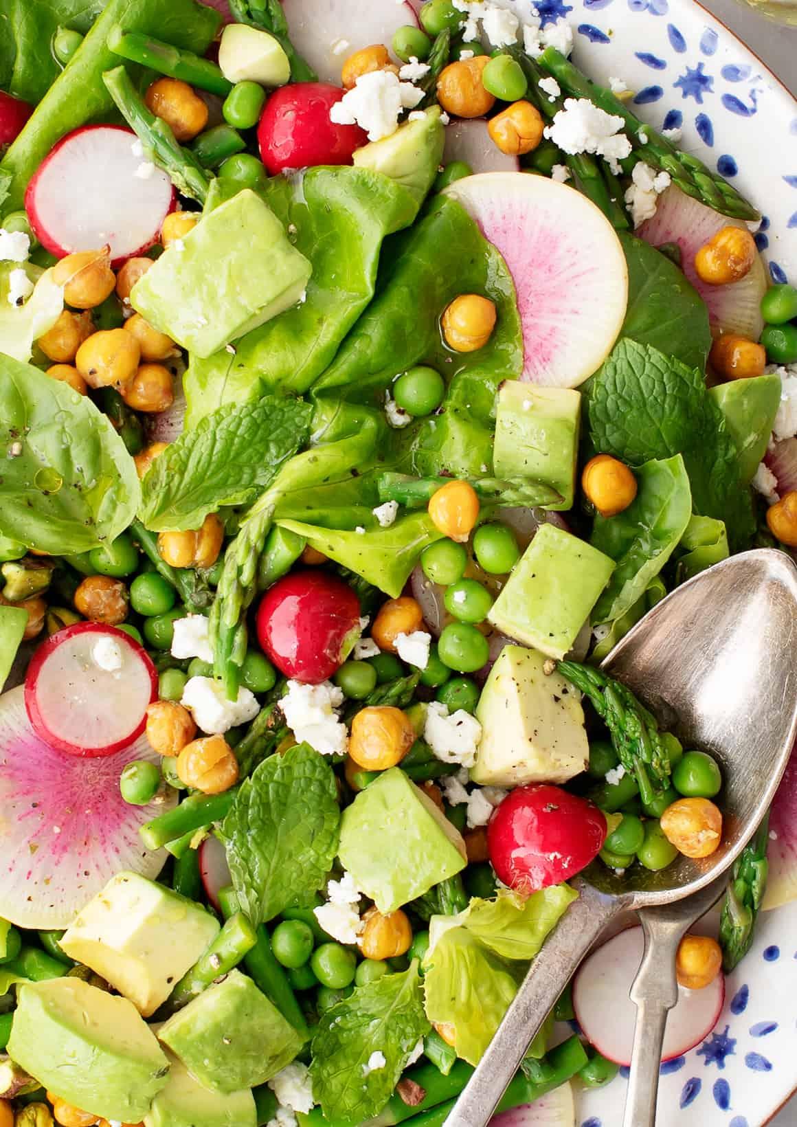 Bright Spring Salad Recipe Love And Lemons