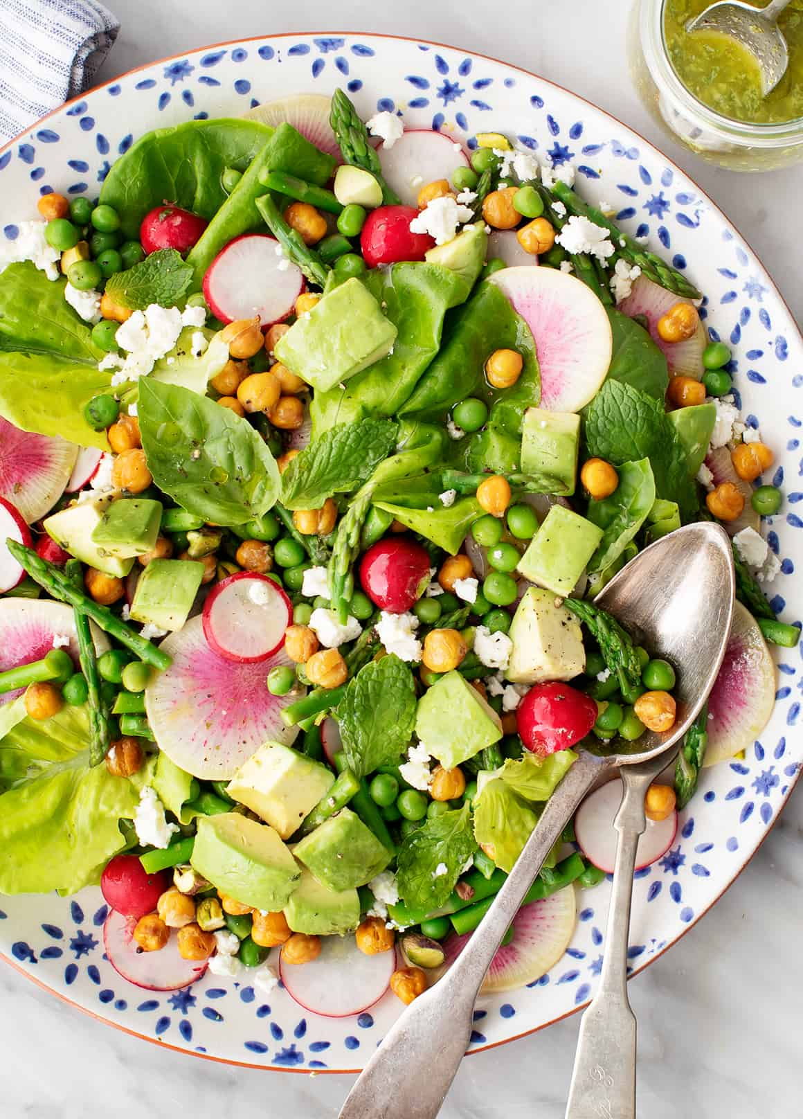 Bright Spring Salad Recipe Love And Lemons
