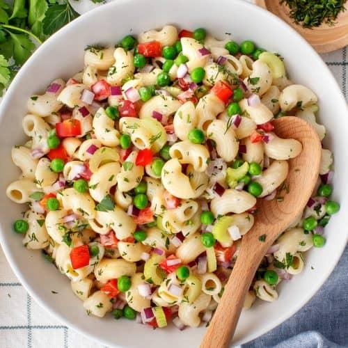 Macaroni Salad Recipe Peas