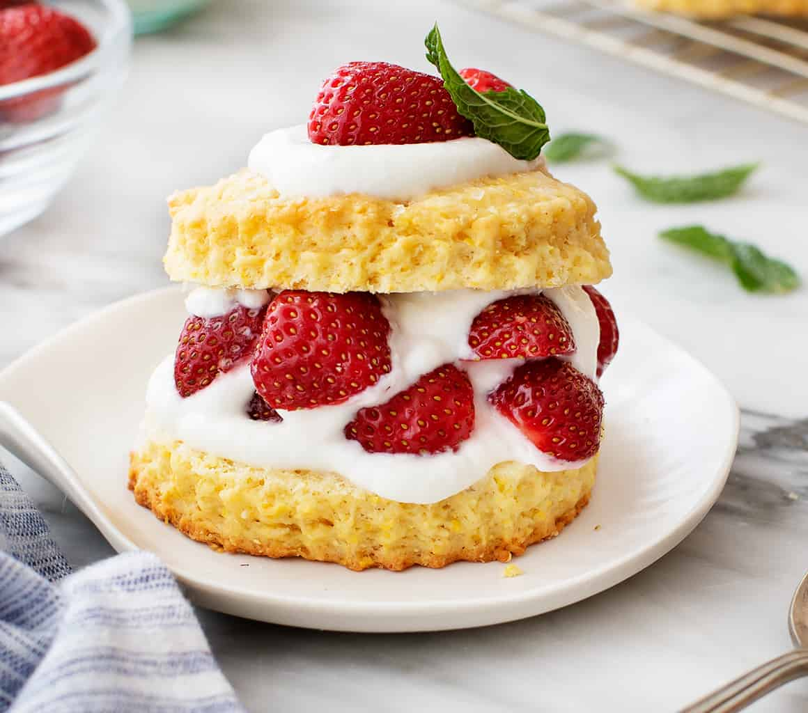 Strawberry Shortcake Recipe Love And Lemons