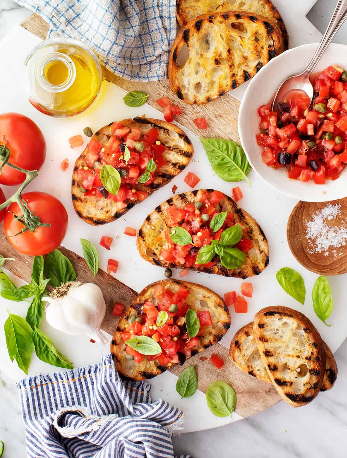 Best grill recipes - Bruschetta