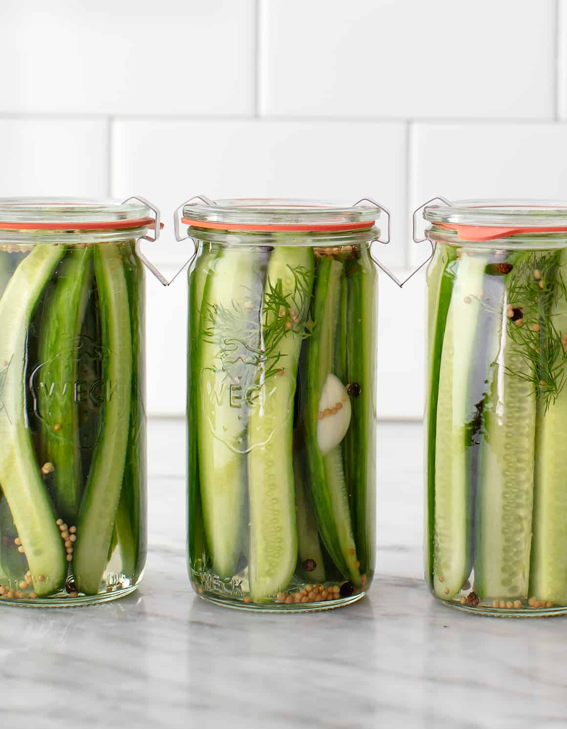 Dill Pickles Recipe Love And Lemons