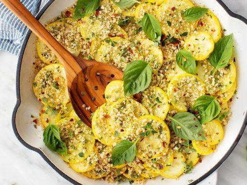 Sauteed Yellow Squash Recipe Love And Lemons