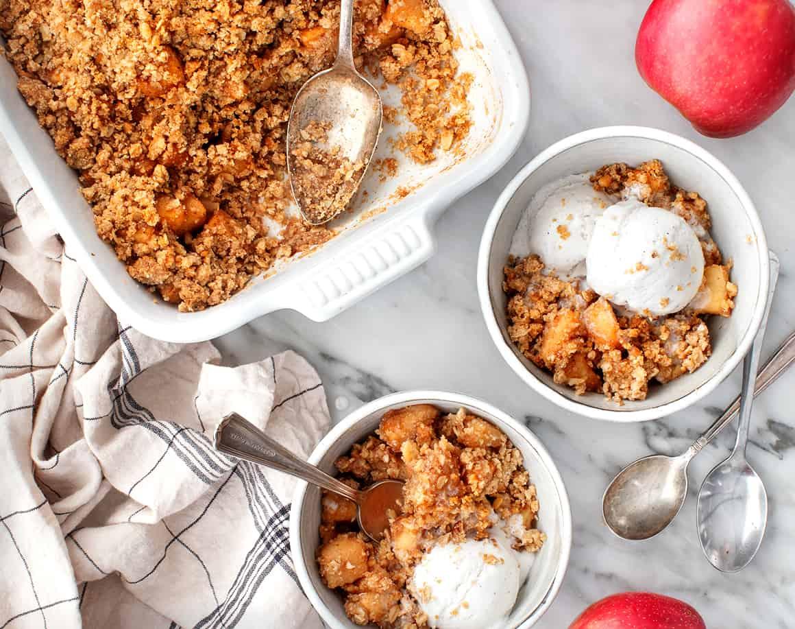Apple Crumble Recipe Love And Lemons