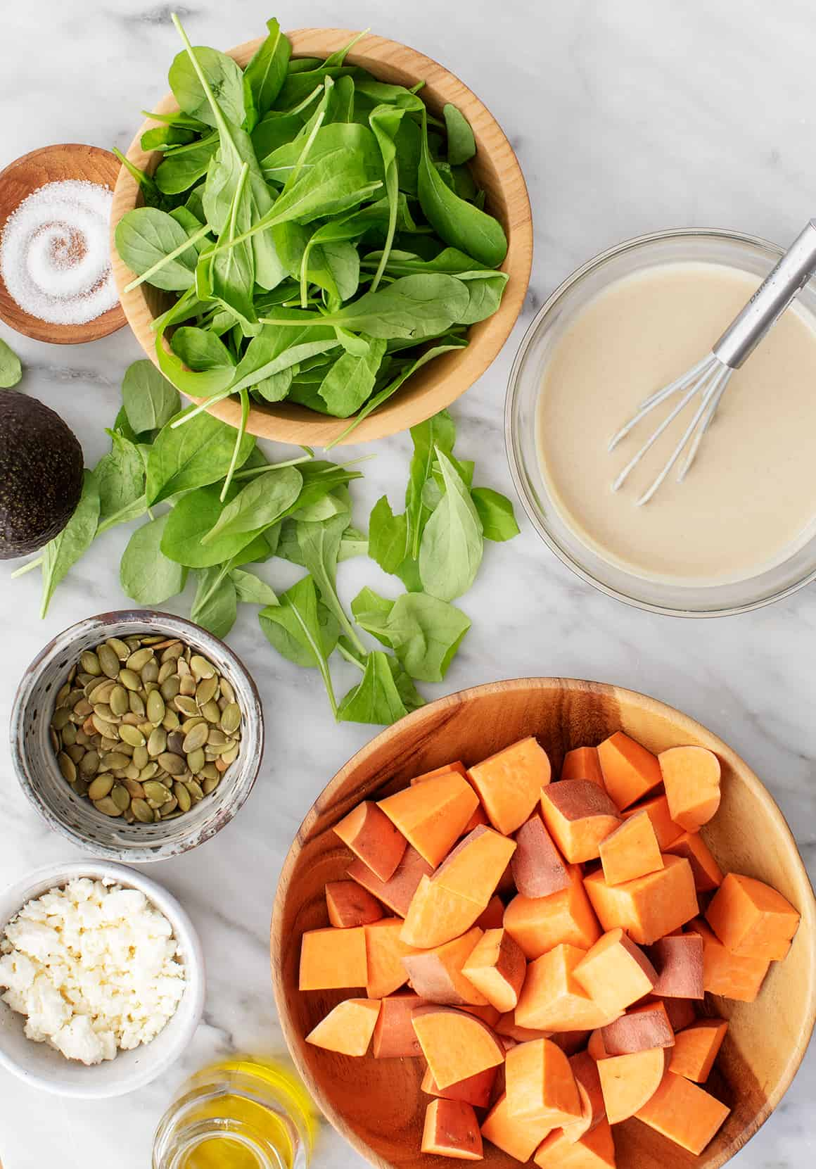 Sweet potato salad recipe ingredients