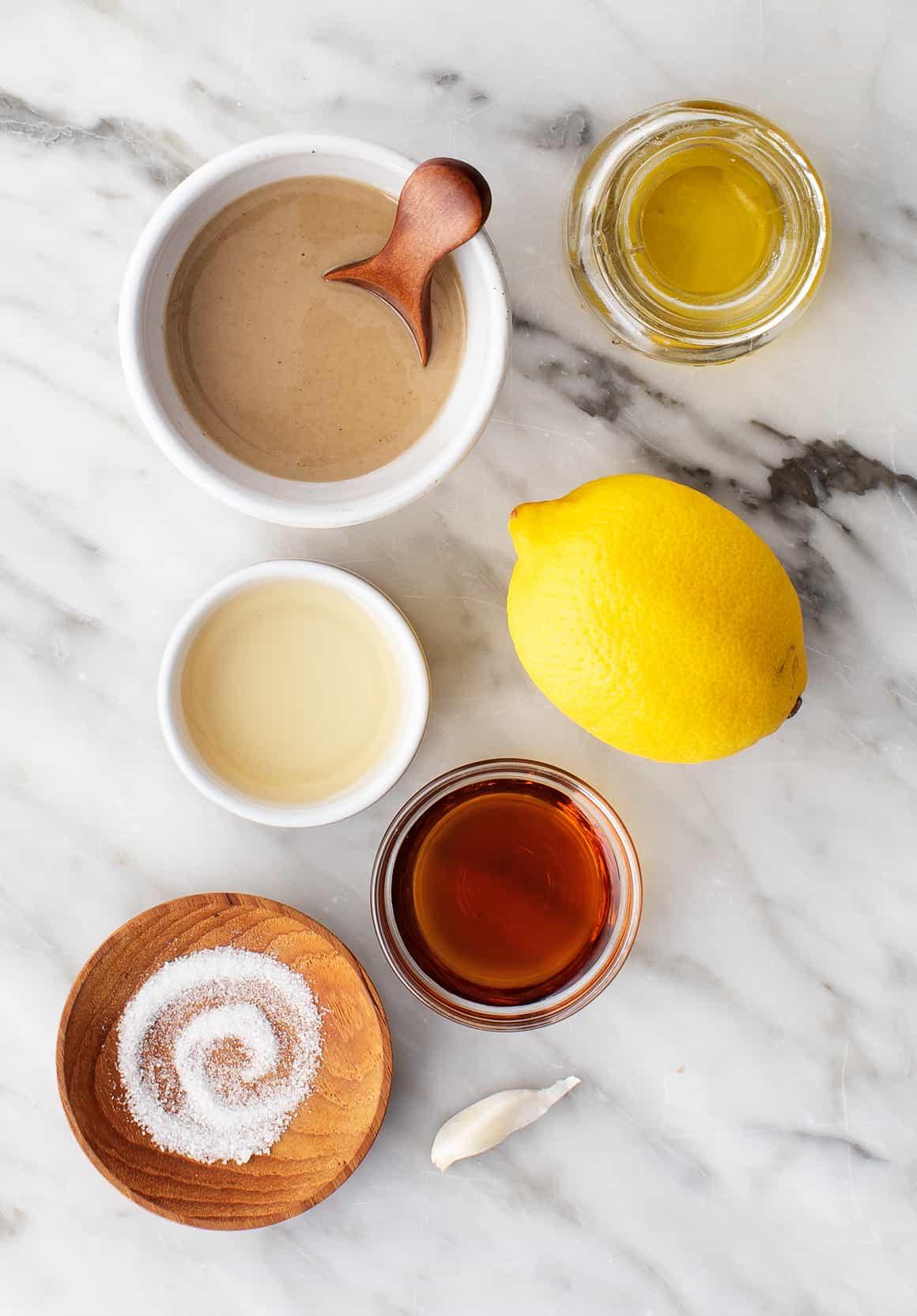 Tahini dressing recipe ingredients