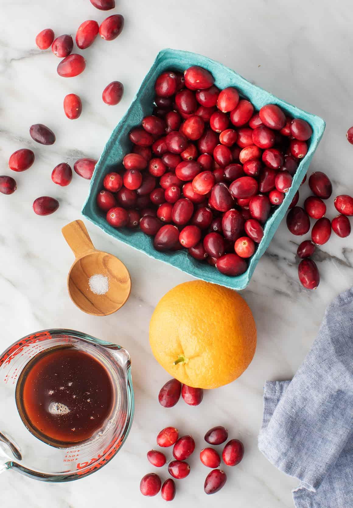 Cranberry sauce recipe ingredients